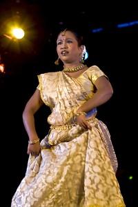 Indyjska tancerka Anindita Acharjee z Delhi wystąpiła w Centrum Łowicka