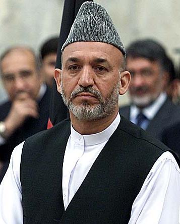 Karzai, fot. K.Thompson, licencja CC