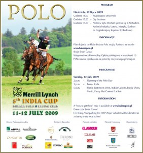 5-ty turniej polo Merrill Lynch India Cup