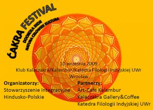 Ćakra Festiwal. Dookoła Indii - kultura, człowiek, natura.