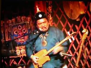Gendos - szaman z Tuwy