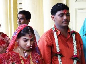 Uroczystość zaręczynowa w Kolkacie