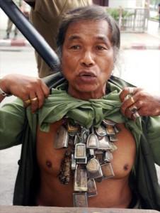 Magiczne amulety w Bangkoku