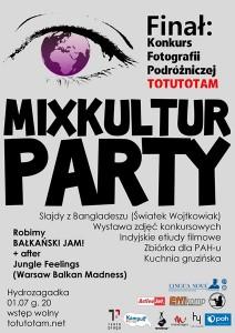 1 lipca 2010 - MixKultur Party w Hydrozagadce