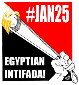 Al Jazeera: filmy z protestów w Egipcie
