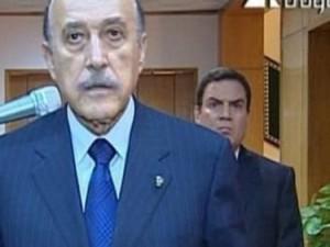 Egipt: Mężczyzna zza pleców Omara Suleimana