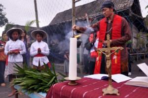 Indonezyjscy chrześcijanie rozpoczęli Wielki Tydzień