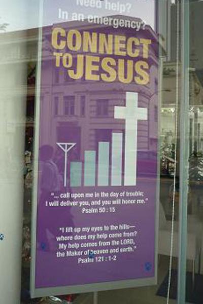 Connect to Jezus w Singapurze