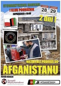 28-29.06 -  Podróże do Afganistanu