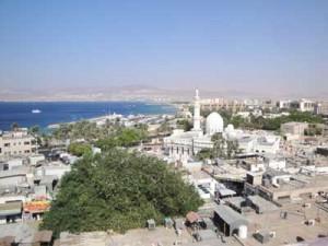 Aqaba w Jordanii