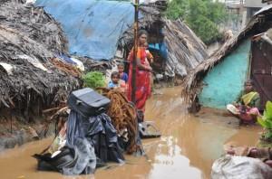 slumsy w indiach