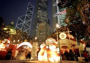 Zima w Hong Kongu