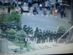 Demonstracje w Teheranie