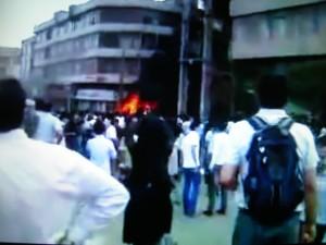 Demonstracje w Teheranie c.d.