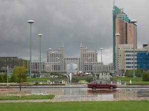 Kazachstan. Tutaj jeszcze można spotkać Człowieka