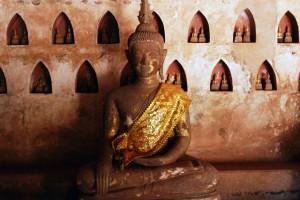 Spacer po Vientiane