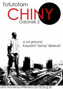 Zapraszamy na odcinek drugi opowieści o chińskich wojażach Krzysztofa Bieleckiego!