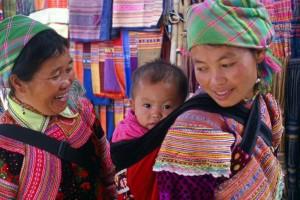 Hmongowie w północnym Wietnamie