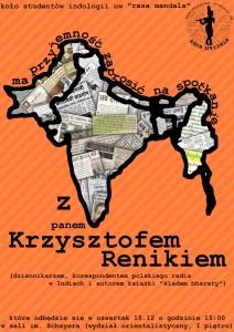 15.12 - spotkanie z Krzysztofem Renikiem