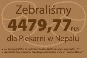 Finał zbiórki dla Piekarni w Nepalu