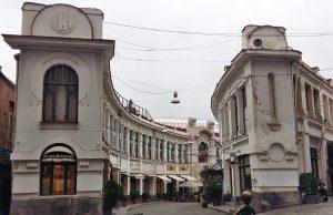 Stare Tbilisi. Glamour na Chardin